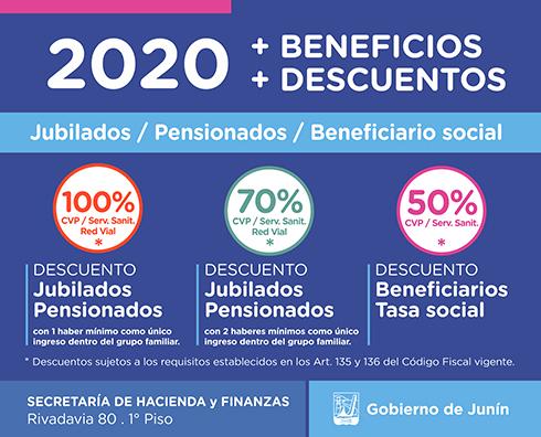 Descuentos 2020 en tasas municipales