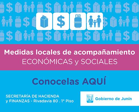 Medidas locales de acompañamiento - Económicas y Sociales