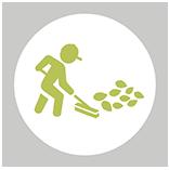 En la imagen se observa un icono circular mostrando el valor de nueve pesos
