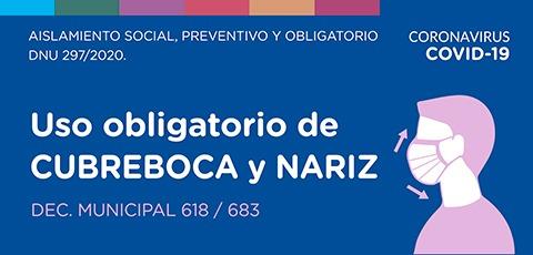 Imagen de cubrebocas - prevención covid 19