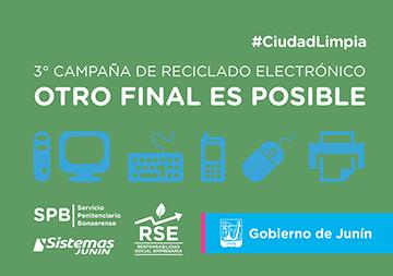 3° CAMPAÑA DE RECICLADO ELECTRÓNICO