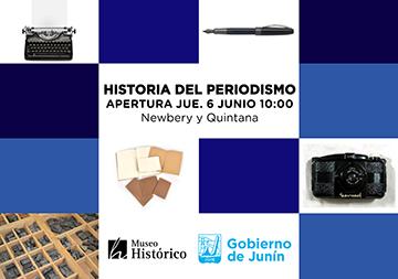 Muestra Historia del Periodismo