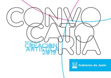 Convocatoria Becas a la Creación Artística 2019