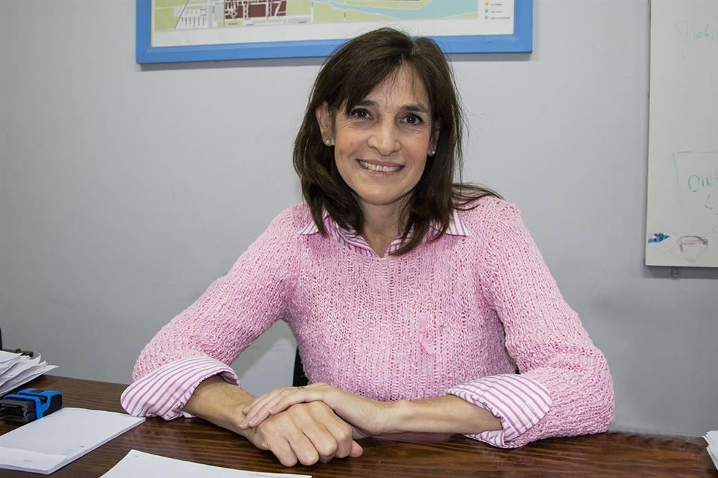 En la imagen se observa a la Dra. Fabiana Mosca, secretaria de salud del Gobierno de Junín.