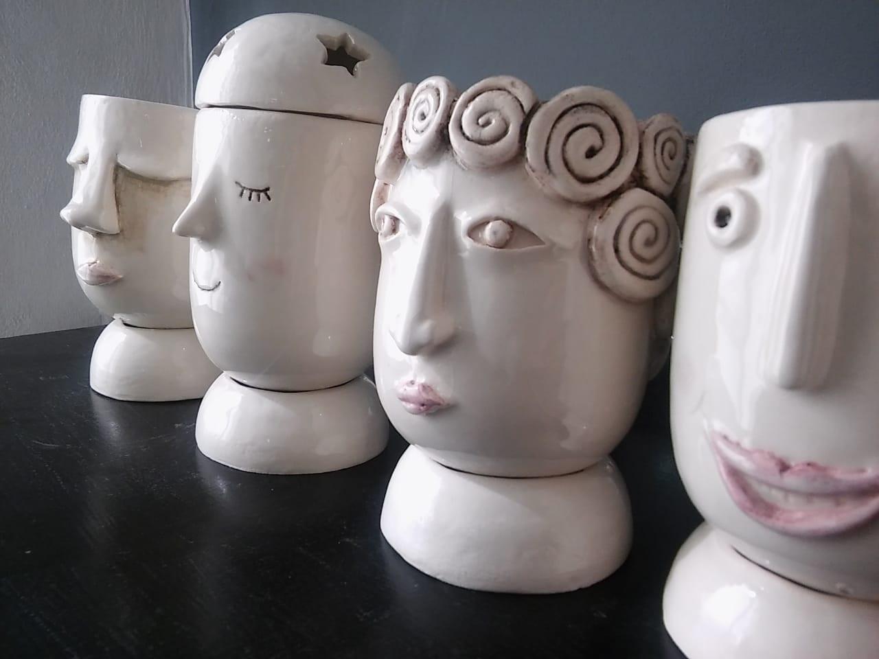 En la imagen se observa una parte de los trabajos que se expondrán en la muestra.